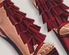 I│Ruffle Add-On Red