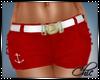 C| Tegan Navy Shorts