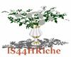 SR! White Roses Vase