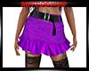 R&R Purple Lep Mini Skir