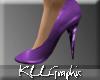 [KLL Glitter Heels Lilac