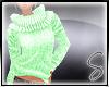 [Sev] Knit Sweater Green