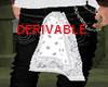 [D] White pocket bandana