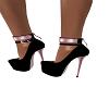 Rose Gold /Black heels