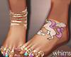 Fringe Unicorn Feet