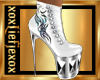 [L] White WOLF Boots F