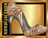 [L] Metallic Chic Heels