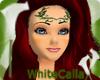 BW Red Mermaid Hairstyle