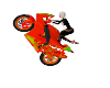 ANIMATED CUSTOM BIKE