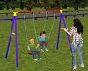 N.C. Children on swing