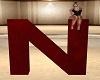 letter red N