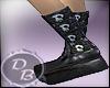DB Skull Goth Boots