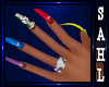 LS~CLAWS COLORFUL NAILS