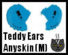 Anyskin Teddy Ears (M)