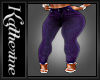Liz's Purple Jeans