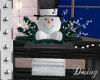 !B!Snowman In White