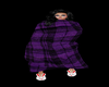 SM~Purple Plaid Blanket