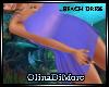 (OD) Purple beach dress