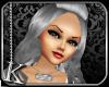 [K] Silver Tyra Hair