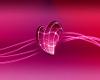 Pink Heart Backdrop