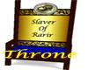 Custom Slaver Throne