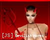 [JS] Devilish Horns!
