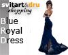 Blue Royal Dress