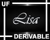 UF Derivable Lisa Sign
