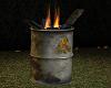 Industrial Barrel Fire
