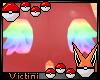Ⓥϟ Rainbow Butt Wings