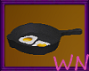 Derivable Fry pan w/eggs
