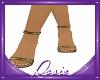 Fashion Olive Heels