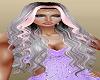 Grey Pink Princess Hair