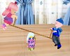 Dolls On See-Saw Animate