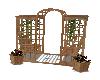 garden swing & seat
