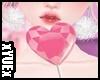 *Y* Heart Lollipop Pink