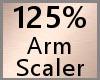 Arm Scaler 125% F A