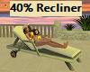 Kids 40% Pool Recliner