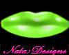 green lipstick small