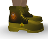 Yellow Toxic Boots