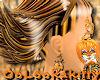 ~Oo Tiger Earrings