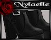 Bonita black boots