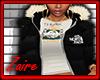 N. Face Black Layer Coat