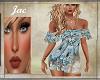 J*SPRING DRESS BLUE FLOR