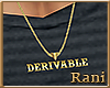 Derivable Necklace