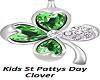Kids St PattysDay Clover