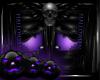 -A- Goth Halloween Door