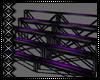 Blk/Purple Bleachers