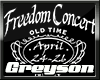 !G! Freedom Concert