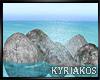 -K- Water Stone Splash